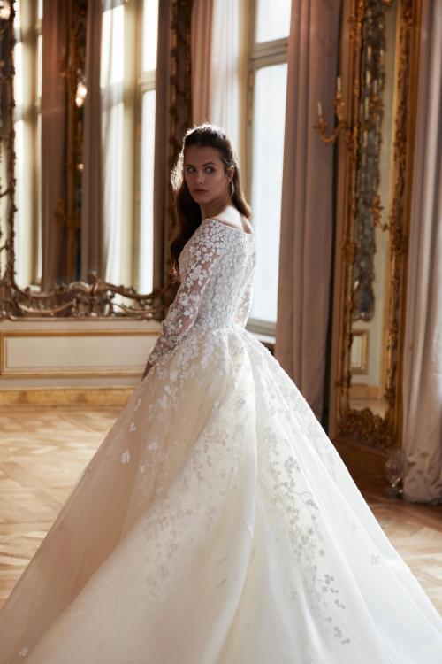 2019 Beautiful Long Sleeve Wedding Dresses - Arabia Weddings