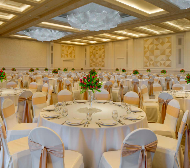 The Largest Wedding Ballrooms In Hotels In Dubai