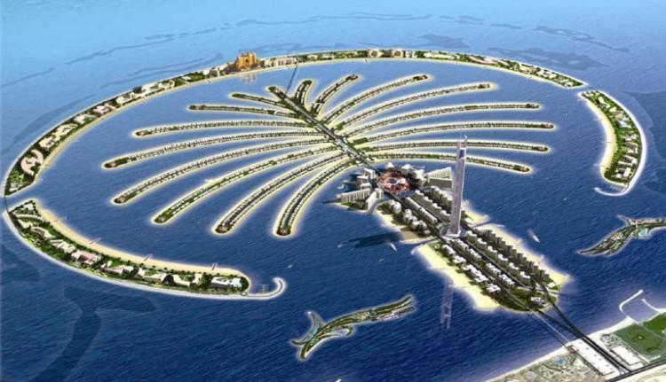 أشهر قاعات الأفراح في فنادق نخلة جميرا دبي