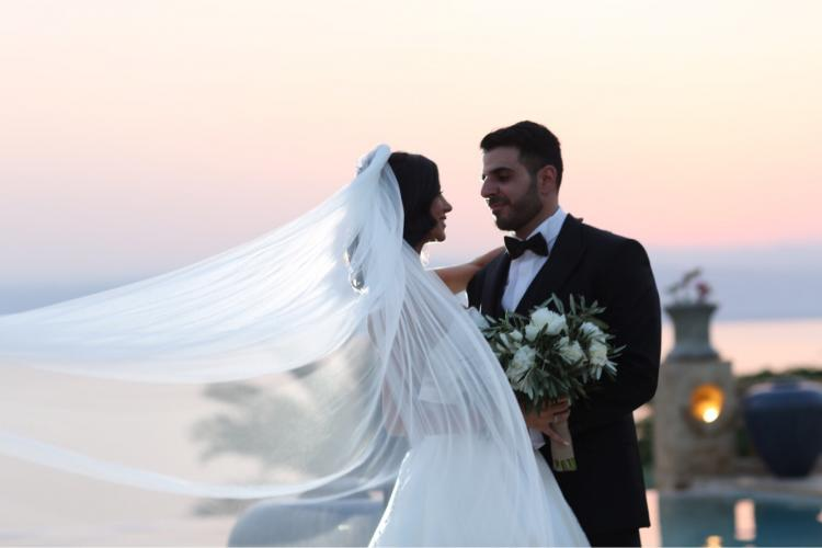 Yafa and Khalil's Beautiful Wedding at the Dead Sea