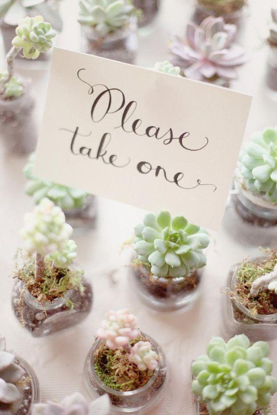 Great Ideas For Your Wedding Favors