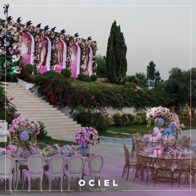 أشهر قاعات الزفاف في لبنان