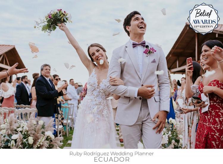 جوائز بيليف تعلن أسماء منظمي حفلات الزفاف الفائزين