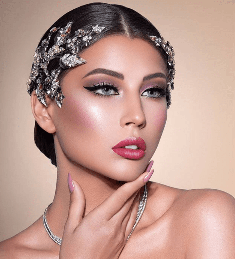 Wedding Hairstyle And Makeup: Bridal Makeup For Arab Brides