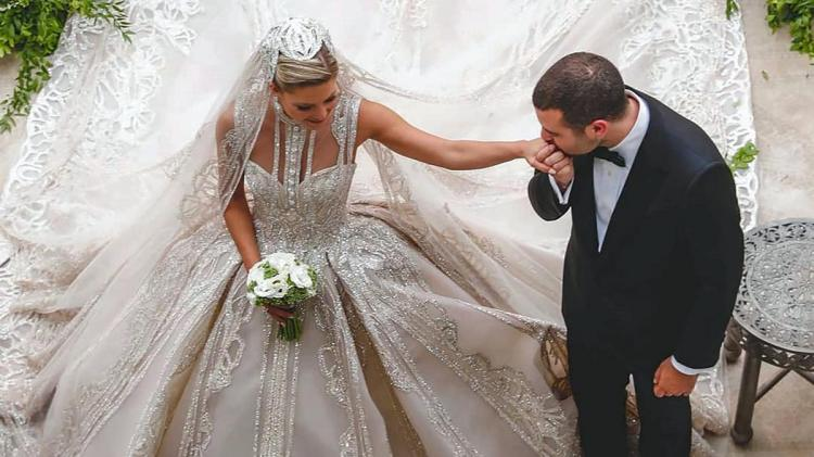 Elie Saab Jr and Christina Mourad's Luxury Wedding
