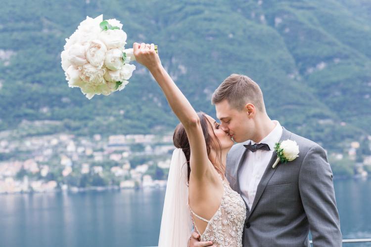 8 أسباب لإقامة حفل زفافك في بحيرة كومو