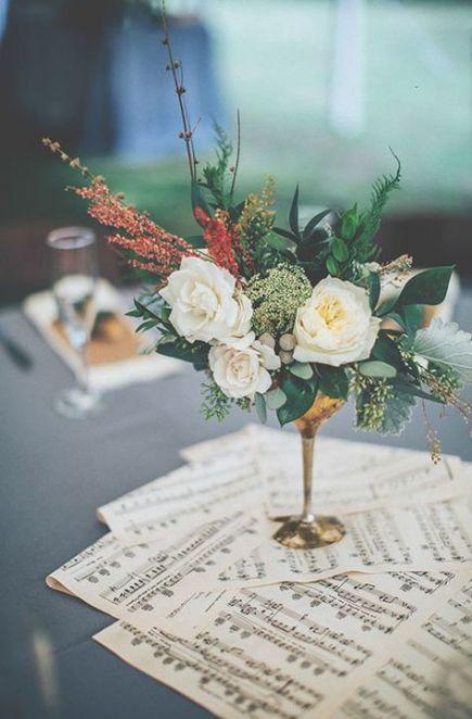 A Musical Wedding Theme