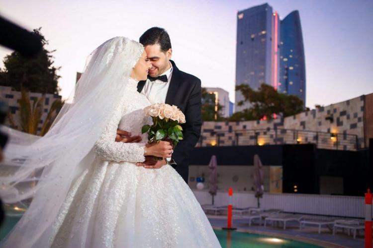 حفل زفاف ريهام وأنس في عمان