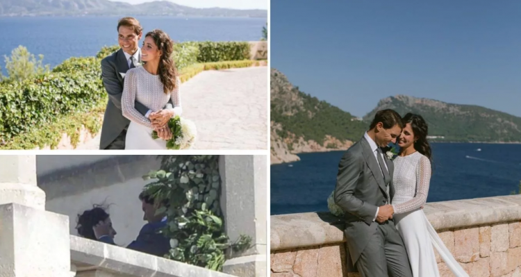 Pictures of Rafael Nadal and Xisca Perello Wedding