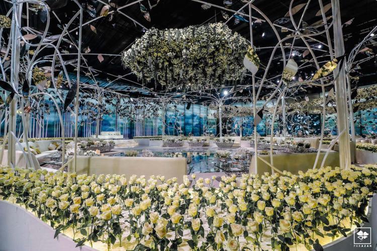 Sheikha Mariam and Sheikh AbdallahAl Thani Luxury Wedding