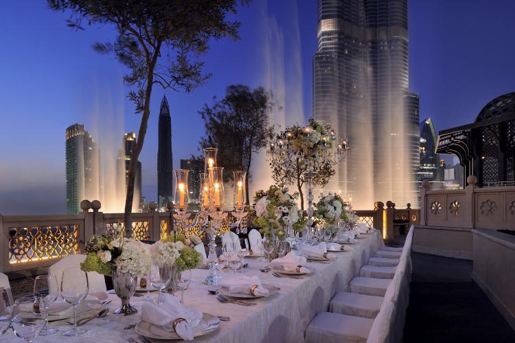 مجموعة إعمار للضيافة تكشف عن أبرز عشر صيحات لحفلات الزفاف لعام 2020