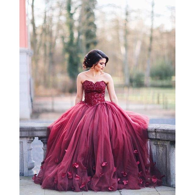 Beautiful Engagement Ballgowns