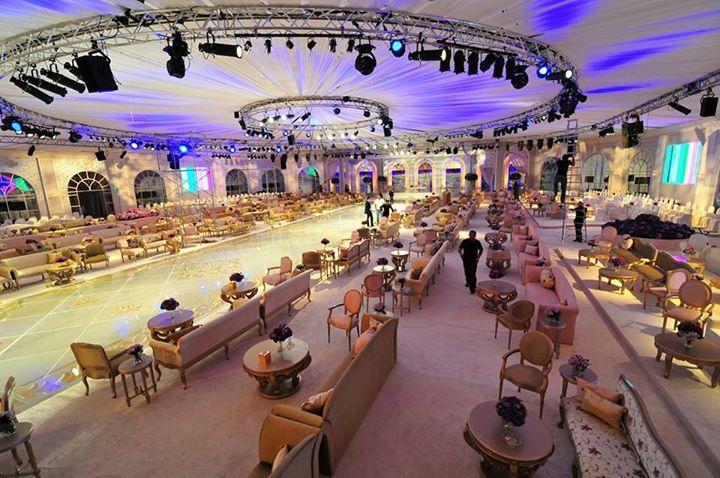 The Most Luxurious Wedding Halls in Riyadh