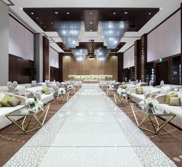 Smaller Hotel Ballrooms for Smaller Weddings in Riyadh