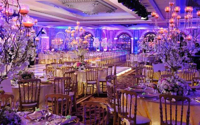 أكبر قاعات الزفاف الداخلية في لبنان