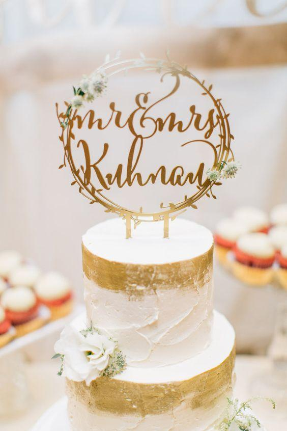 The Most Beautiful and Unique Wedding Cake Toppers