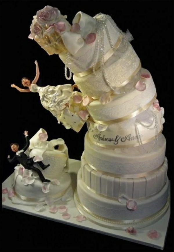 أغرب كيكات الزفاف حول العالم!