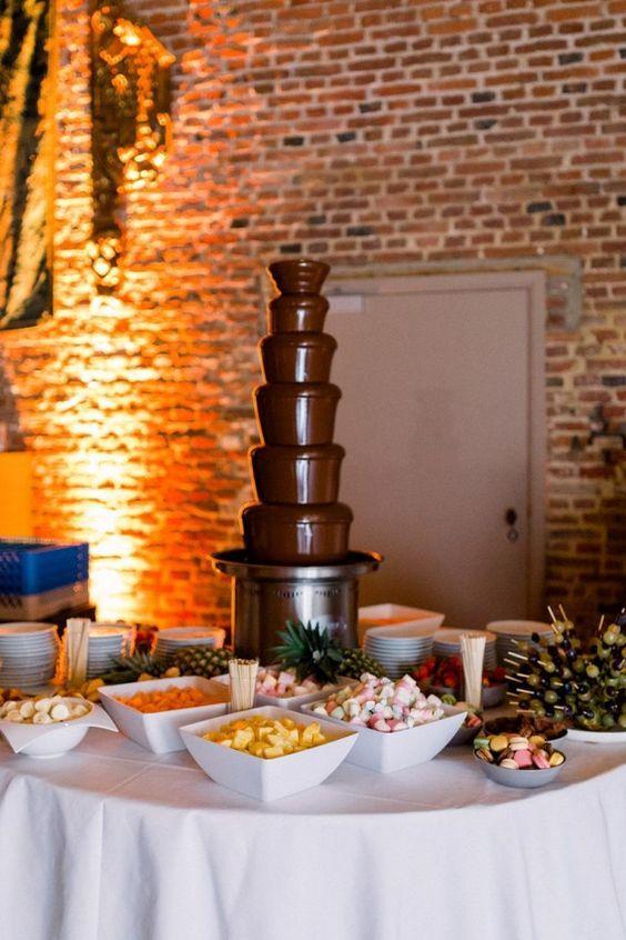 A Chocolate Wedding Theme