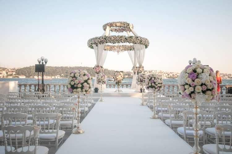 Top 6 Luxury Wedding Venues in Istanbul
