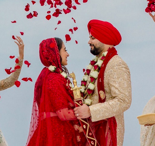 طقوس حفلات الزفاف الهندية