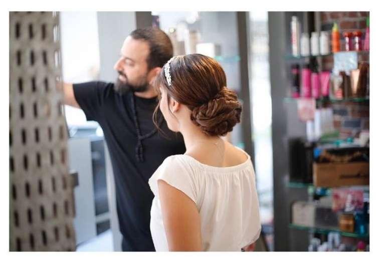 أجمل تسريحات اعراس بأنامل مصفف الشعر اللبناني ميشال زيتون