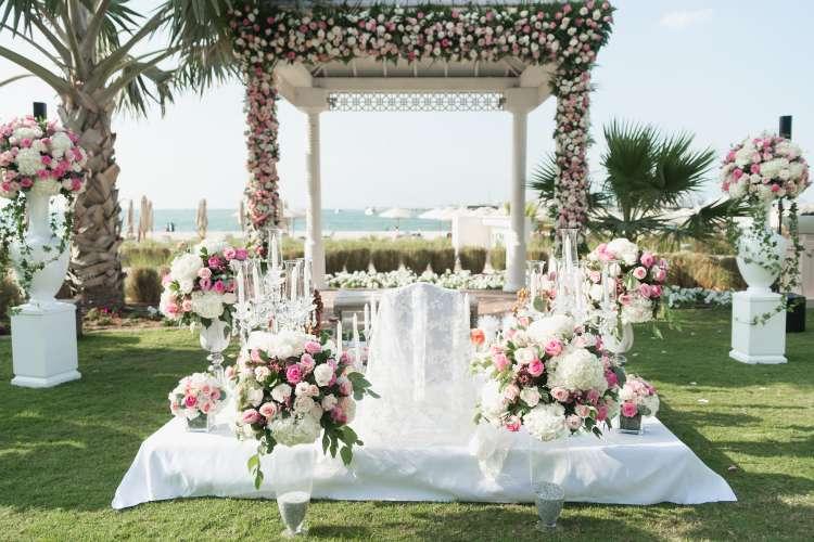 كل ما عليك معرفته حول سفرة العقد في حفلات الزفاف الفارسية