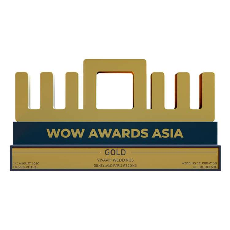 Vivaah Weddings Wins 3 Gold Awards at Wow Awards Asia 2020