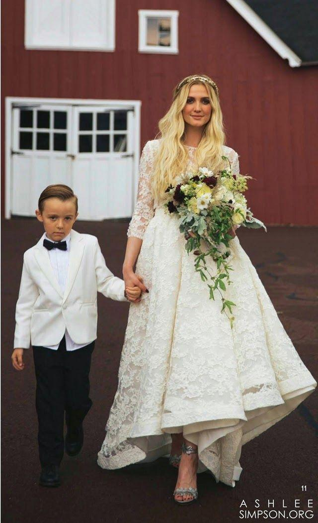 Ashlee Simpson and Evan Ross\' Wedding - Arabia Weddings