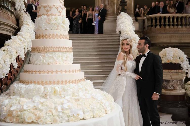 Lara Khaddam And Mounif Nehmeh's Wedding