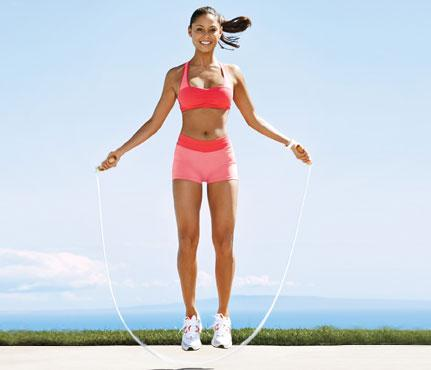 Jumping Rope for the Bride-to-Be