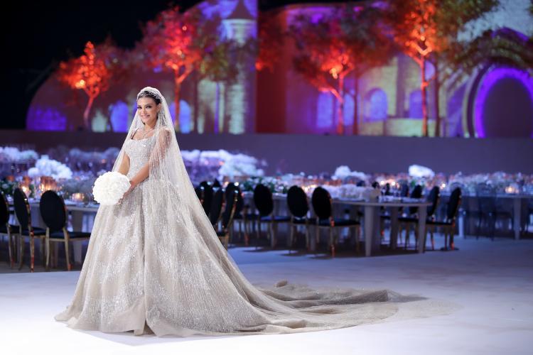 Lebanese Wedding - Golden Wedding by Paul Nasr