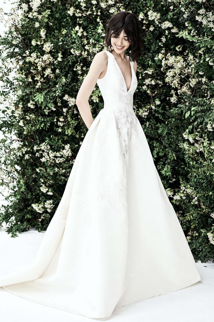 Carolina Herrera 2020 Spring Wedding Dress Collection 1