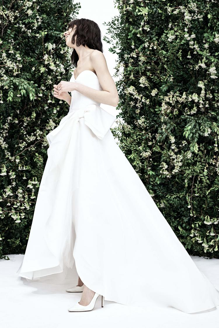 Carolina Herrera 2020 Spring Wedding Dress Collection 3