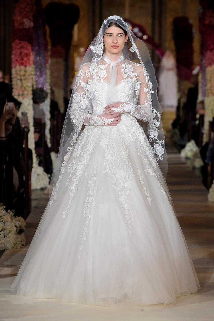 Reem Acra 2020 Thank You Wedding Dress Collection 5
