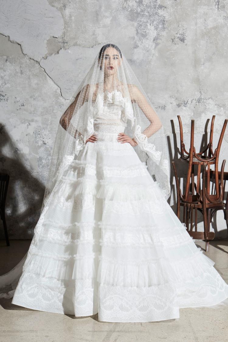 Zuhair Murad Spring 2020 Wedding Dress Collection 1