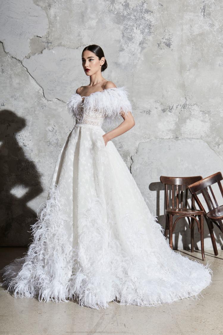 Zuhair Murad Spring 2020 Wedding Dress Collection 4