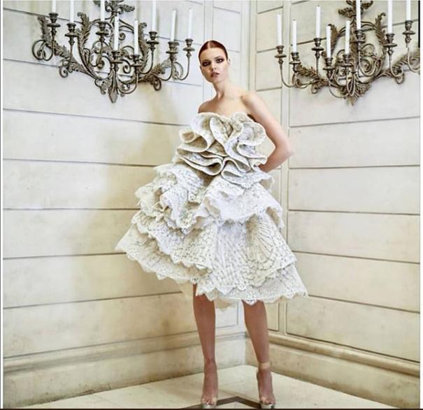 Abed Mahfouz 2019 Short Wedding Dress
