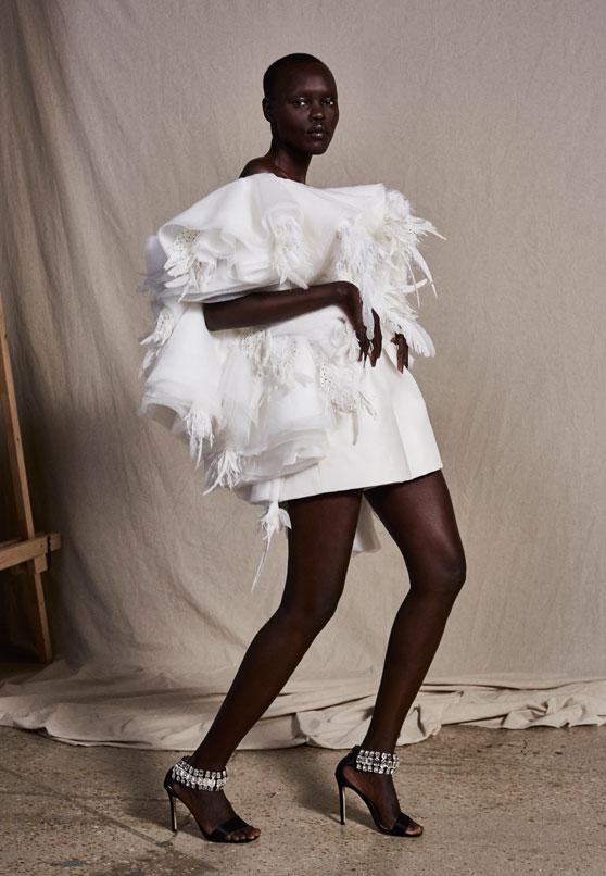 Ashi studio 2019 Short Wedding Dress 1