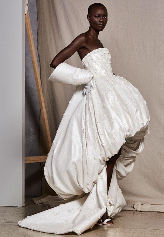 Ashi Studio 2019 Short Wedding Dress