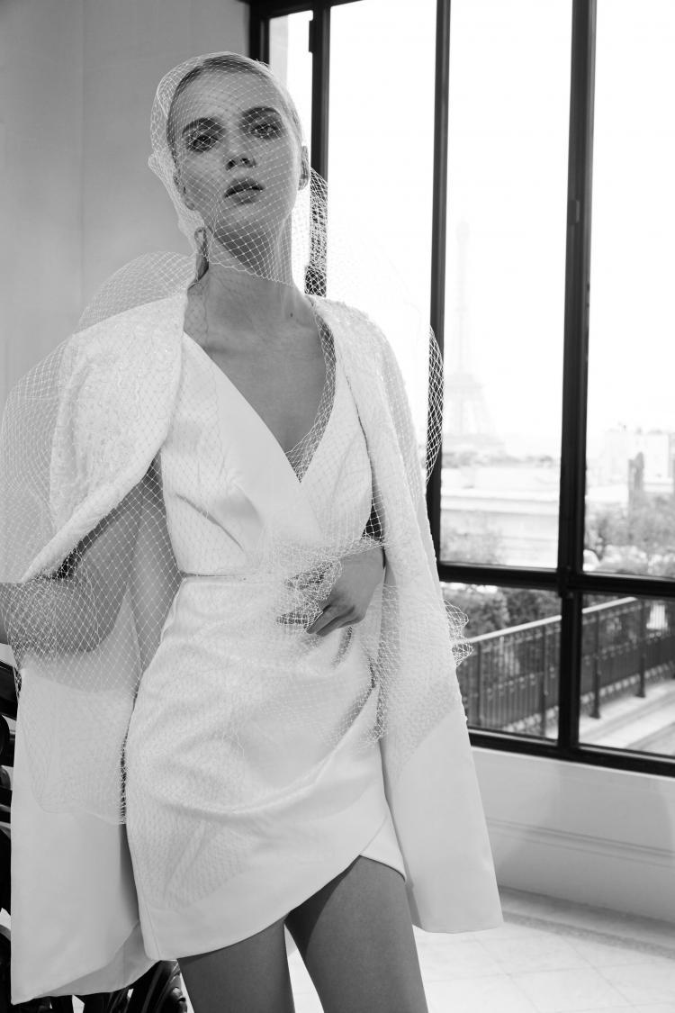 Elie Saab 2019 Short Wedding Dress