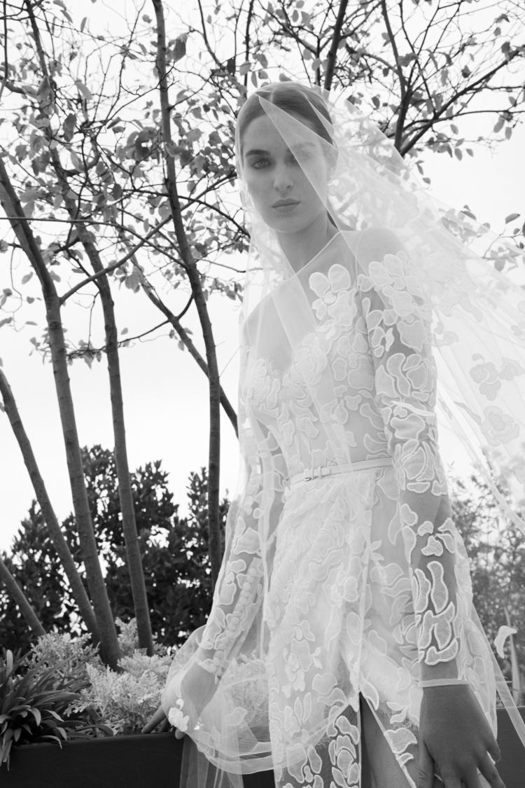 Elie Saab 2019 Short Wedding Dress 2