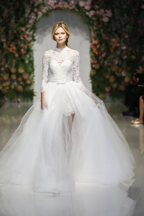 """مجموعة فساتين زفاف """"الحديقة السرية"""" لربيع 2019 من موريلي 1"""