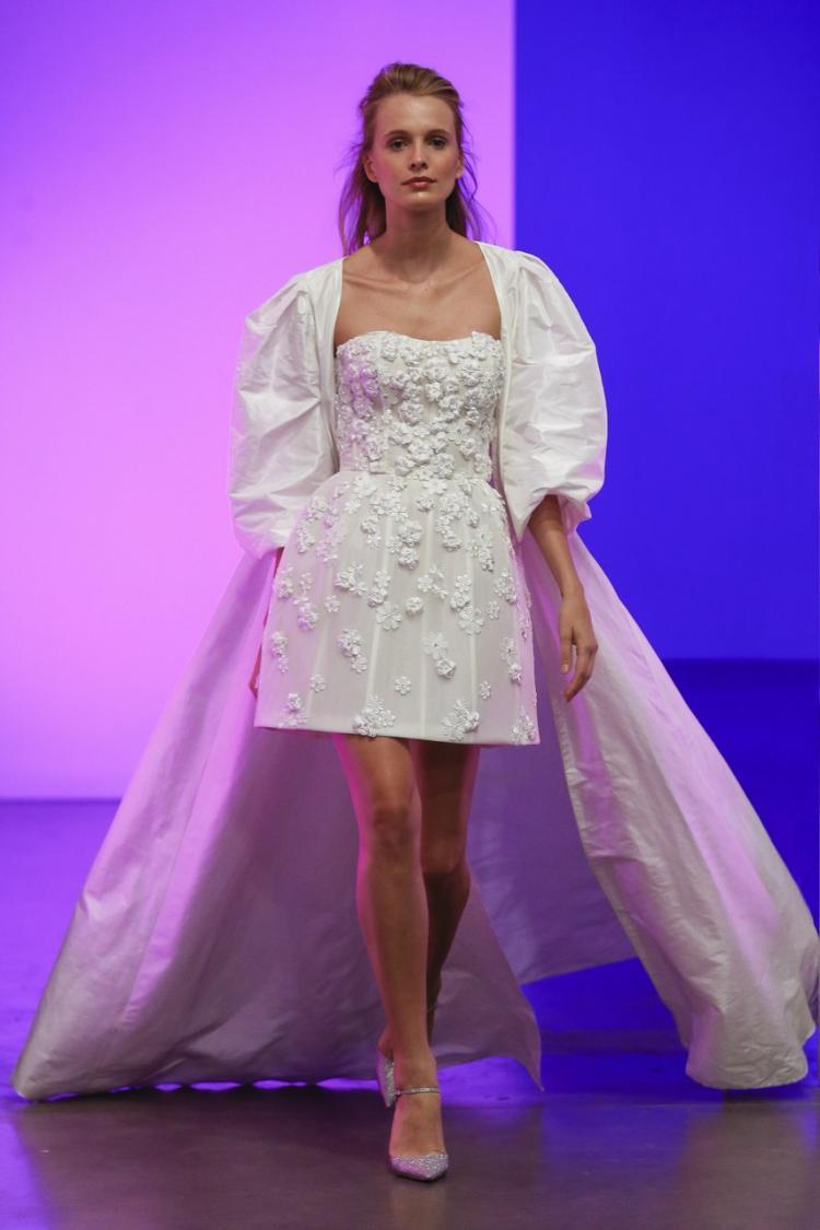 Gracy Accad 2019 Short Wedding Dress