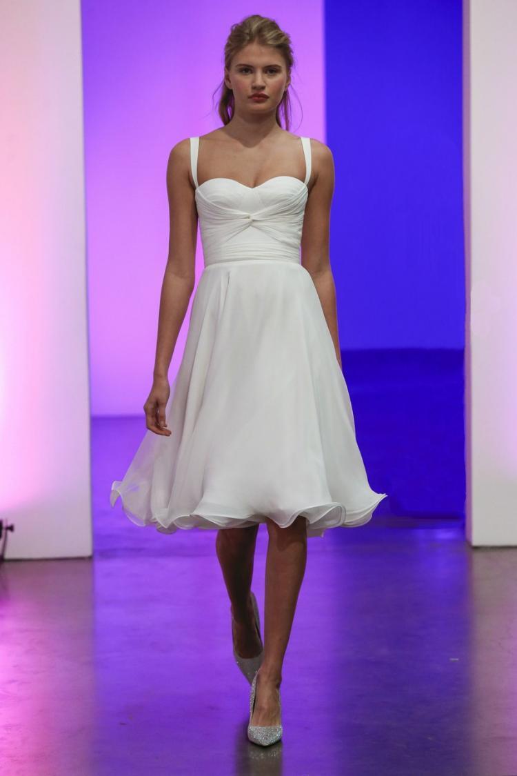 Gracy Accad 2019 Short Wedding Dress 1