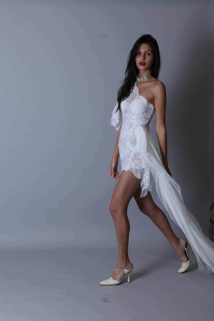 Maison Roula Short Wedding Dress