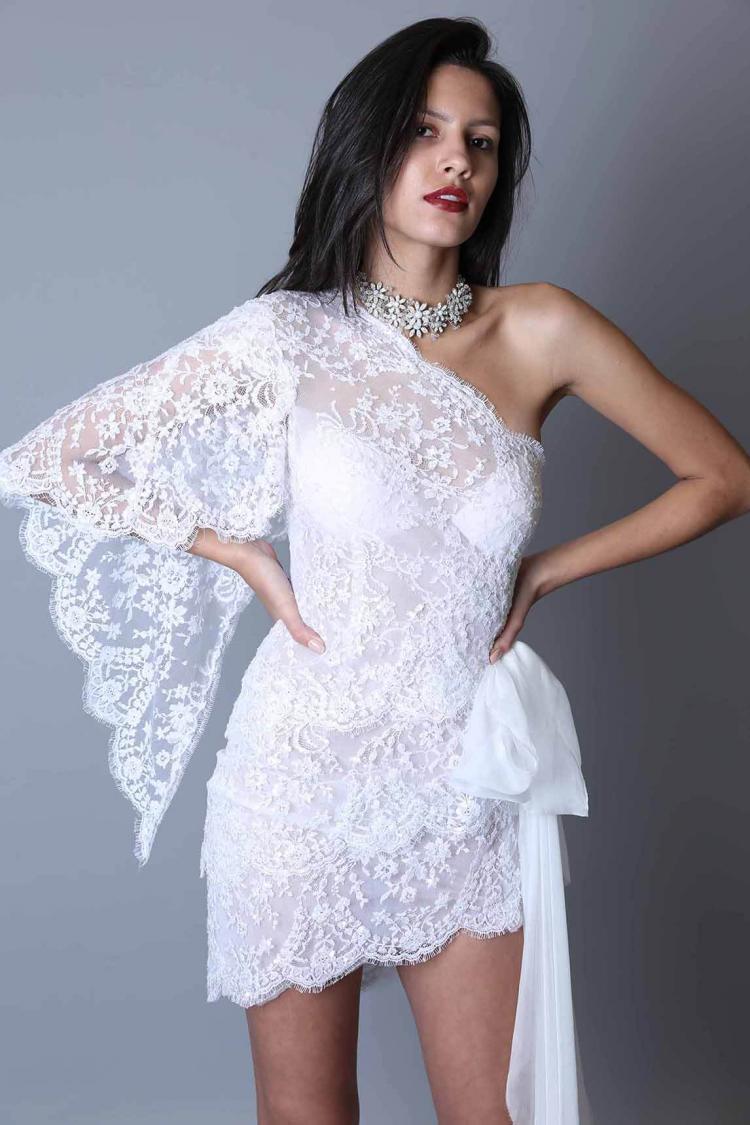 Maison Roula 2019 Short Wedding Dress
