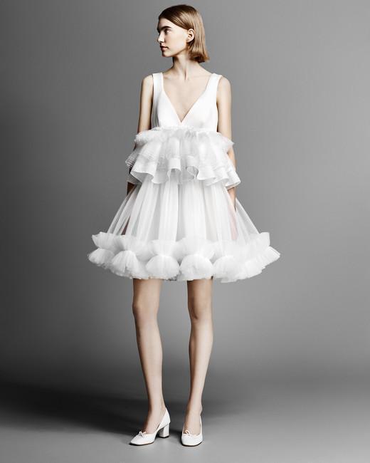 Viktor Horsting and Rolf Short Wedding Dress 1