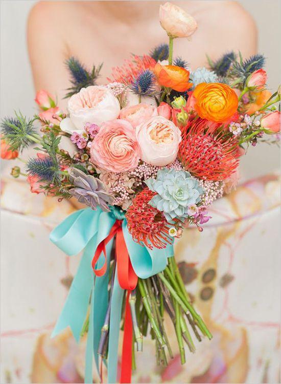 Bright Colors Bouquet 3