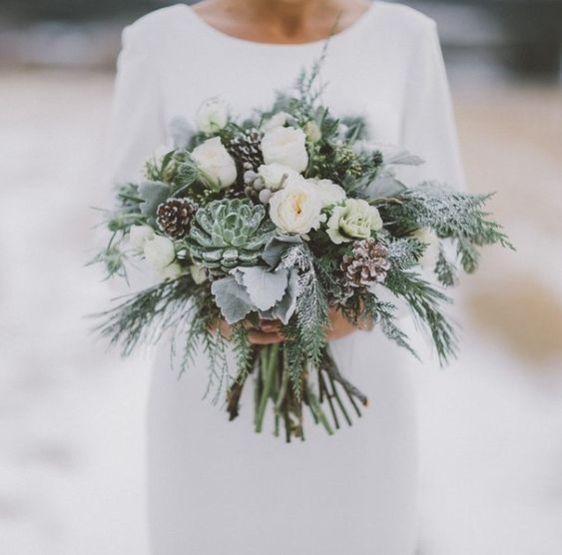 Seasonal Bridal Bouquets