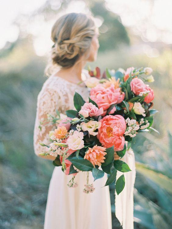 Oversized Bridal Bouquet